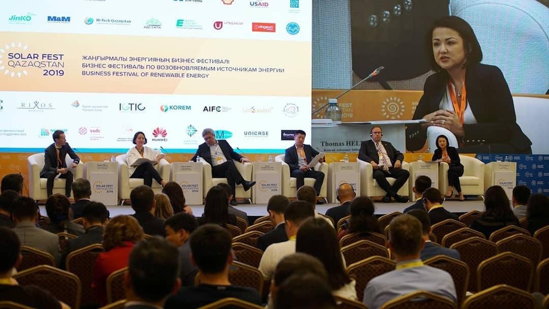 В Боровом участники Solar Fest Qazaqstan обсудили актуальные вопросы энергетики