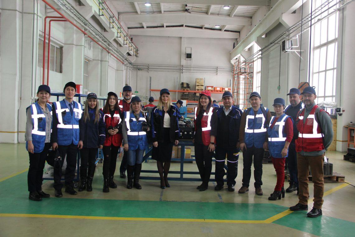 3000й стрелочный электропривод P80 компании Alstom сошел с производственной линии в Алматы,Казахстан