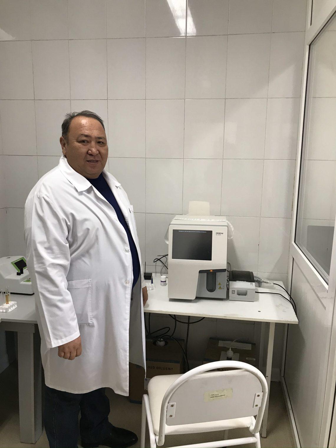 Компания SANTO передала центральной районной больнице г. Арыс несколько единиц современного медицинского оборудования.