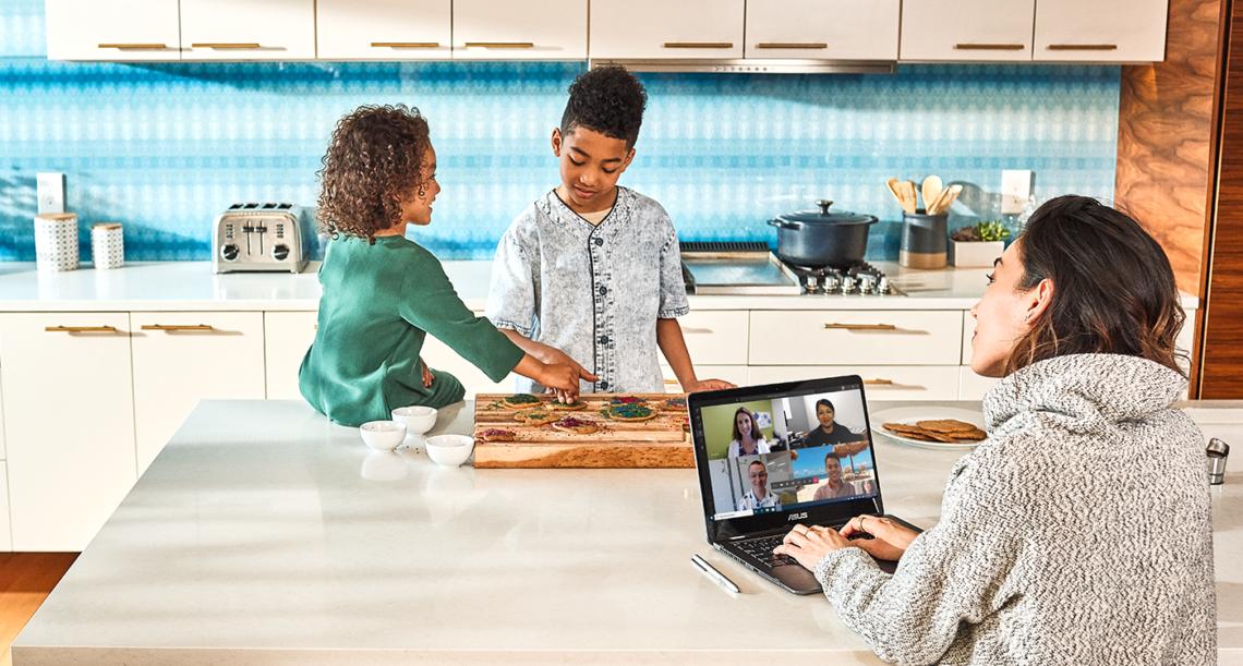 Новые данные Microsoft : современные тренды при организации удаленной работы и как люди могут оставаться на связи