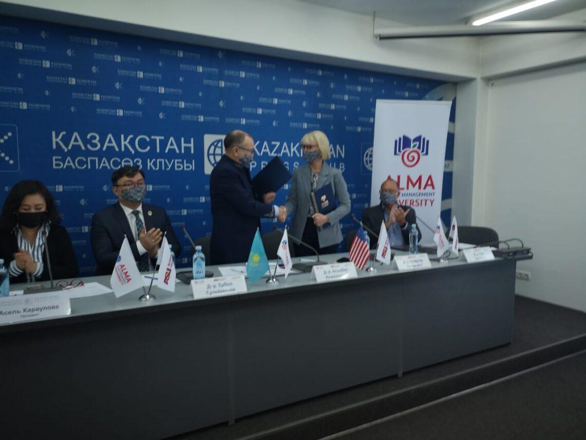 При поддержке Arizona State University** Almaty Management University (AlmaU) установит новый стандарт высшего образования в Центральной Азии и Казахстане.
